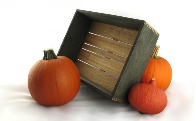 Halloweenowa skrzynka