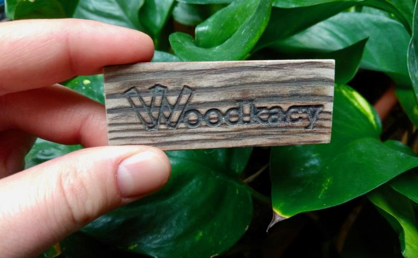 Wizytówki Woodkacego